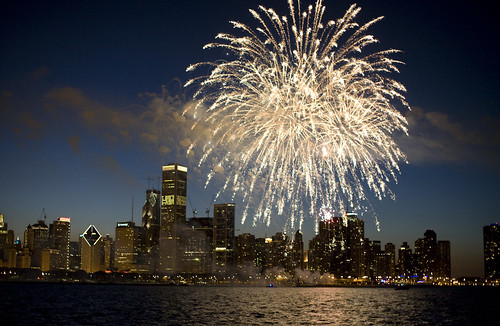 July 4 -- Fireworks Over Chicago | by Bill in DC