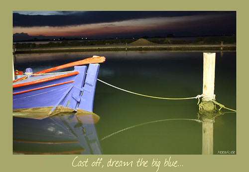 Cast off, dream the big blue... | by KOMNAS