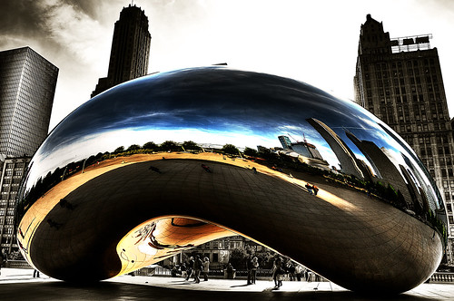 The Cloud Gate | by ydaci
