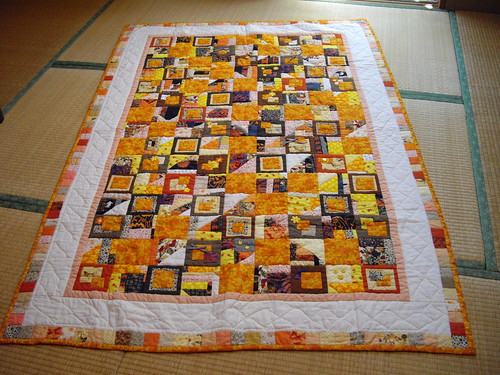 A very scrappy Halloween quilt | by Pine57