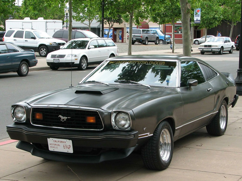 1978 ford mustang ii mach 1 fastback custom 694p 1 by