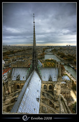 Notre Dame, View over the Seine, Paris, France :: HDR | by Erroba