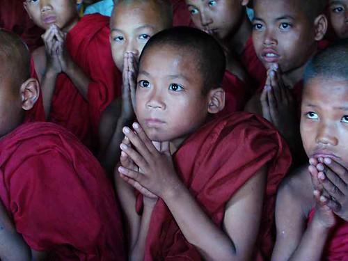 緬甸孤兒院 微笑天使