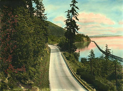 Chuckanut Drive vicinity of Bellingham Bay, Washington | by UW Digital Collections