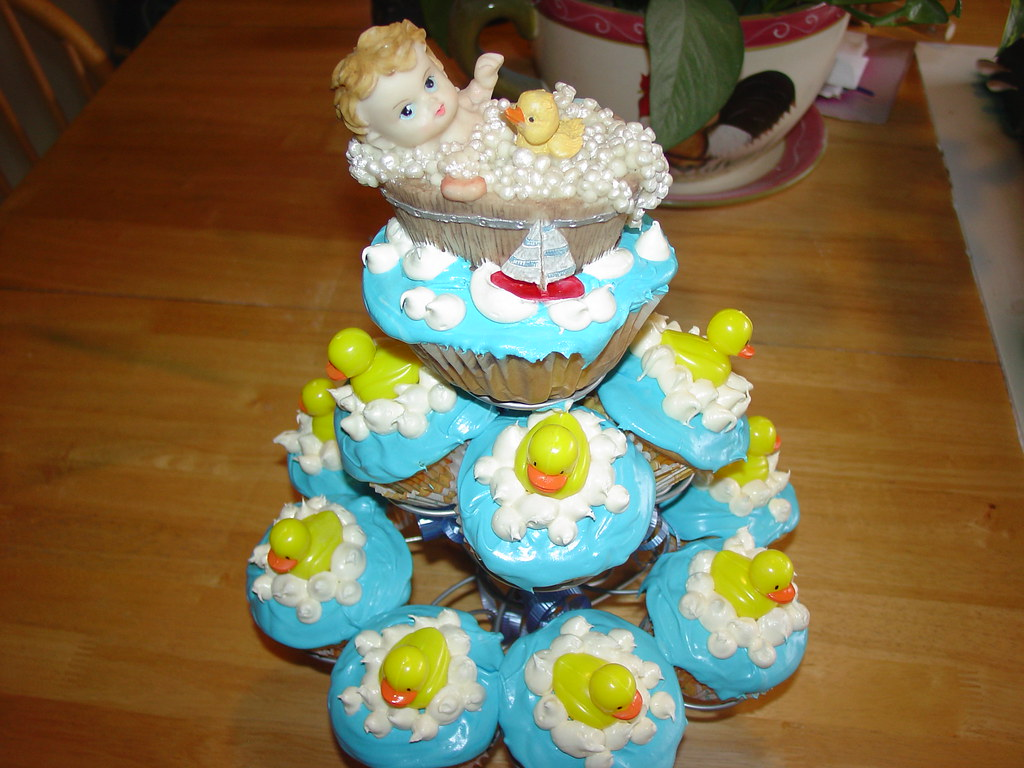 Rubber Ducky Baby Shower Cupcakes Charleysalas At Sbcglobal Flickr