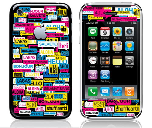 Shuffleart iphone 3g hello updated with few more for New app ideas for iphone