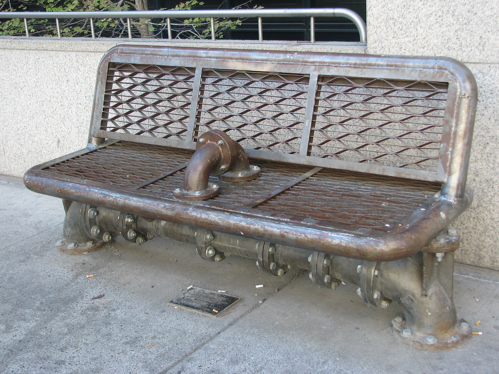 ... Iron Pipe Bench | by Kelly Malloy & Iron Pipe Bench | Iron Pipe Bench | Kelly Malloy | Flickr