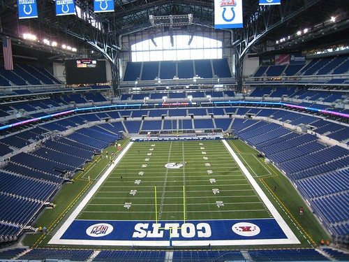 The Money Shot - Lucas Oil Stadium in Indianapolis, IN | by Visit Indiana
