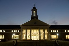 Cage Center at Night | by Berry College