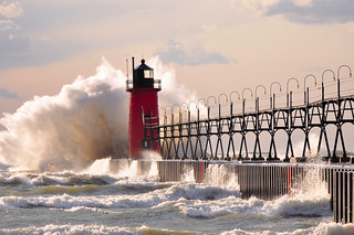 Late October on Lake Michigan | by mic stolz