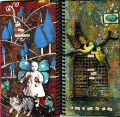 """A Work In Progress"" Skinny Book- Pages 3 & 4 
