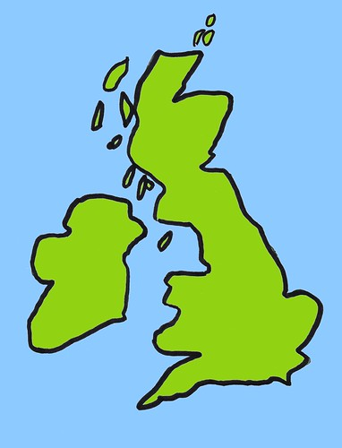 Cartoon Map Of England ~ AFP CV