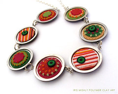 Polymer Clay Disc Chic | by Iris Mishly