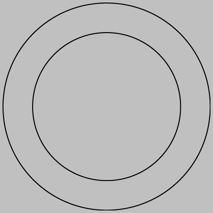 Basic one-inch button template | This is the template for a … | Flickr