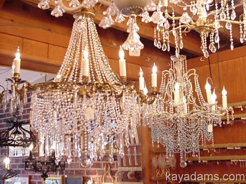 Gorgeous chandeliers long since sold but these were two flickr by kayadams gorgeous chandeliers by kayadams aloadofball