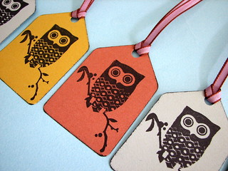 Retro Owl gift tags | by glamourfae