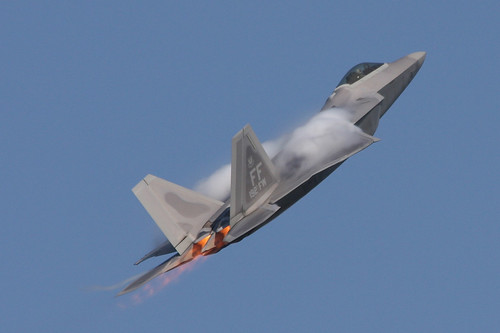 Lockheed Martin Boeing F 22a Raptor Airventure 2008
