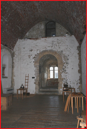 Dover castle keep, interior | Medieval hall in the keep at ...