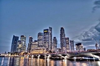 Singapore panorama | by Paul Cowell