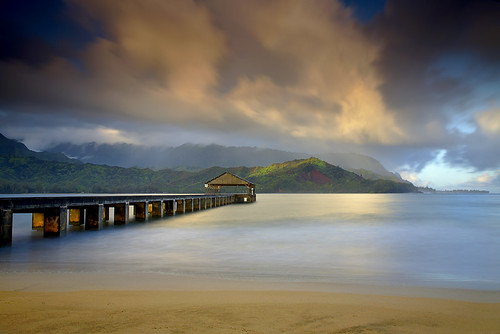 Light at the End of the Pier - Hanalei, Kauai | by PatrickSmithPhotography