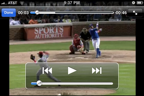 MLB iPhone app | by artifishall
