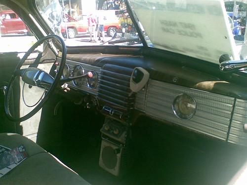 inside old police car vitaly dolya flickr. Black Bedroom Furniture Sets. Home Design Ideas