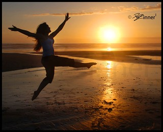 Dancing On The Beach - Self Portrait | by inneriart