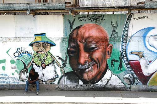 Jorge amado graffiti in salvador bahia jorge amado de - Amado salvador ...