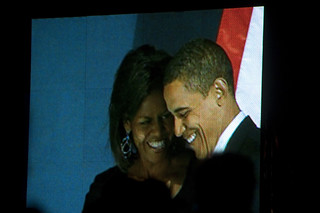 President Barack Obama and First Lady Michelle Obama | by therese flanagan