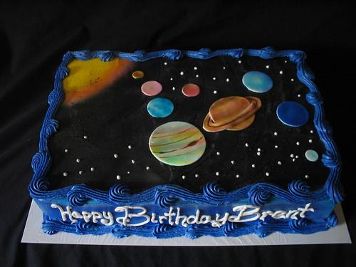 3d solar system birthday cake - photo #37
