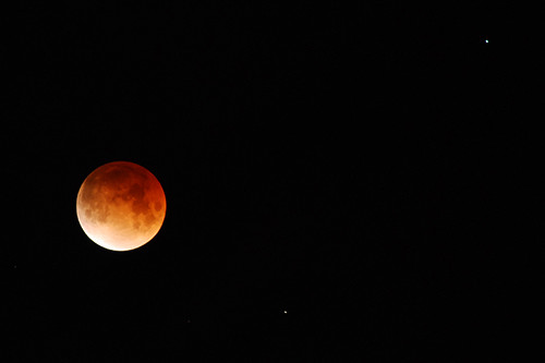 Eclipse totale de lune, 21 février 2008 /Total lunar eclipse, February 21 2008. A bit earlier... | by Laurence TERRAS