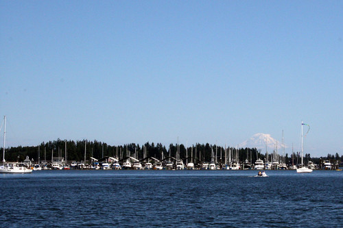 Mt Rainier Liberty Harbor | by JeriSisco