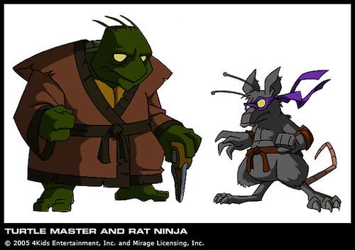 Rat Rat From Tmnt