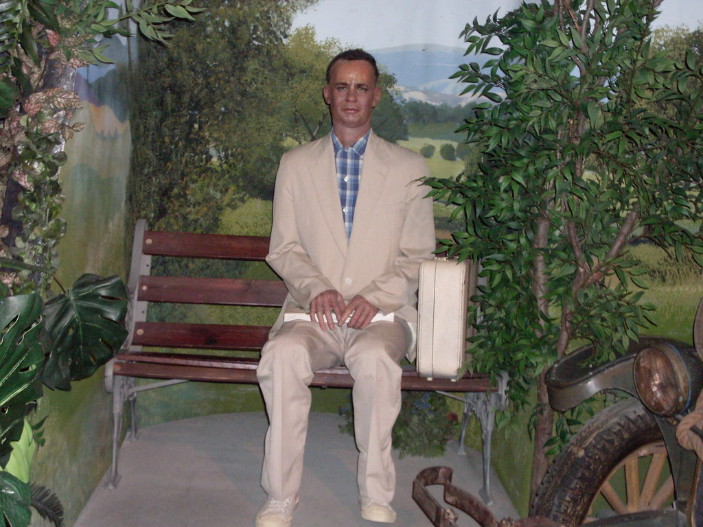 Forrest Gump  Hollywood Wax Museum Tom Hanks Stars As For Flickr - Film museums in usa