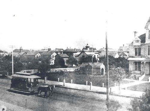 Spring and West 6th Street Railroad, 1874 | by Metro Transportation Library and Archive