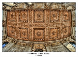 Ceiling Details, St Martin In The Fields | by Lord Muttley McFester