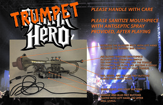 guitar hero trumpet mod | by evilsigntist