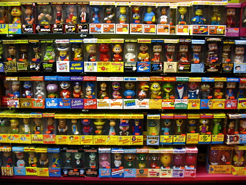 A Wall of Wacky Wobblers | by wardomatic
