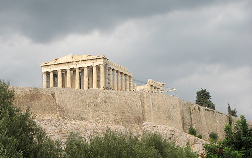 Acropolis from below | by asmodejs
