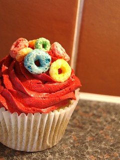 Froot Loops Cupcake | by Natalie...