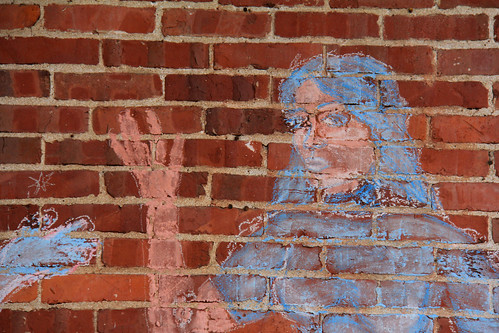 Our Lady of the Blue Chalk | by mikepirnat