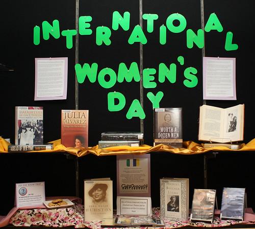 International Women's Day Display