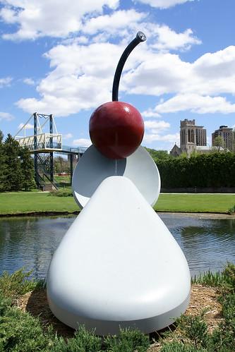 Minneapolis Sculpture Garden The Spoonbridge And Cherry Fo Flickr