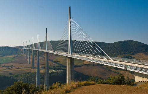 Millau Viaduct sequence 10, Aveyron, France, Sept. 2008 | by PhillipC