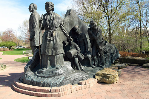 The Underground Railroad Sculpture | by battlecreekcvb