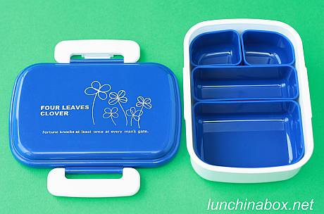 Four Leaves Clover bento box with inserts | by Biggie*