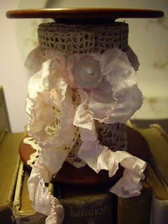 vintage spool with lace | by skblanks