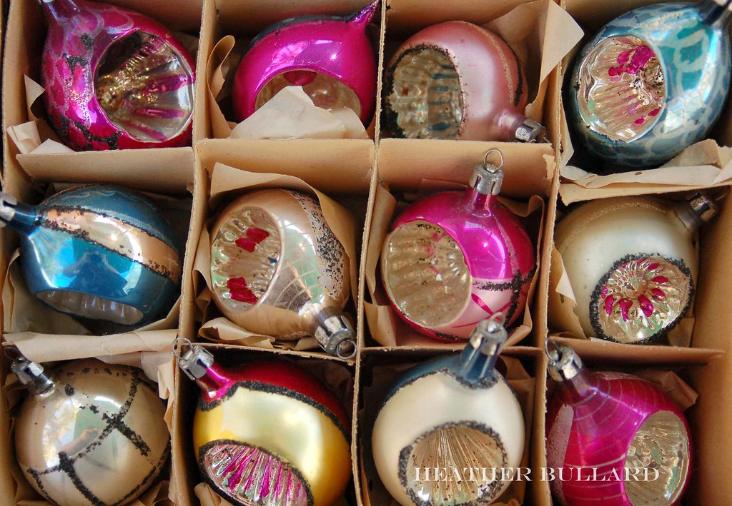 vintage christmas ornaments by heather bullard vintage christmas ornaments by heather bullard - Vintage Christmas Ornaments