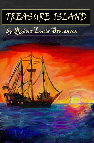 Treasure Island by Robert Louis Stevenson | The cover I crea… | Flickr