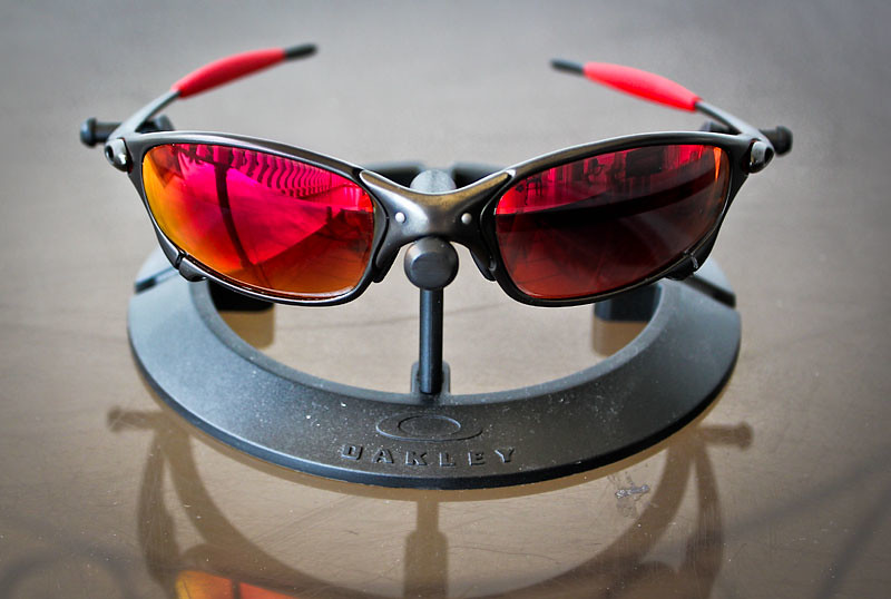 Oakley Juliet Carbon Ruby   Oakley Juliet Carbon Frame Ruby …   Flickr 01f822c122